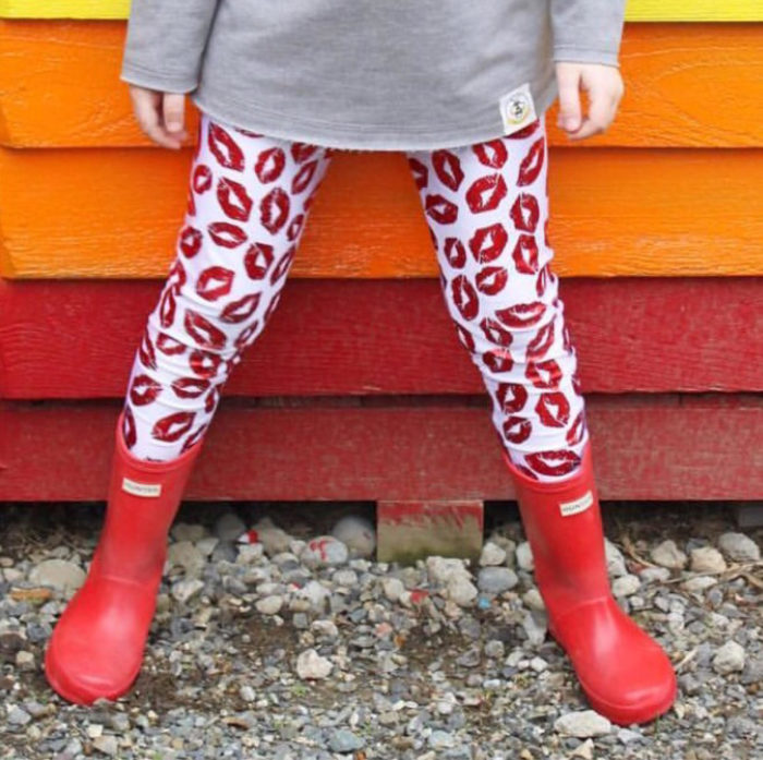 Valentine\'s Leggings For Kids