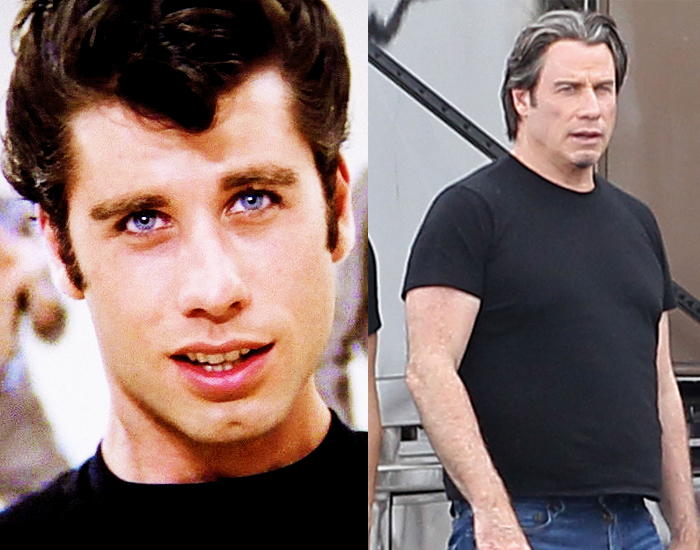 Jhon Travolta Before After