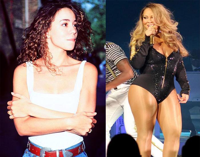 Mariah Carey before after