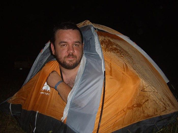 Namiot dla jednego... maluch