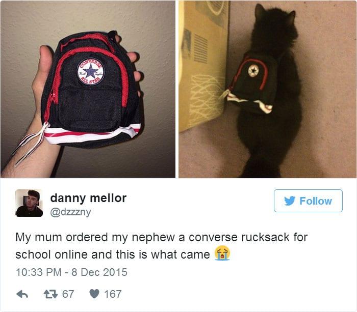 Plecak dla kotka