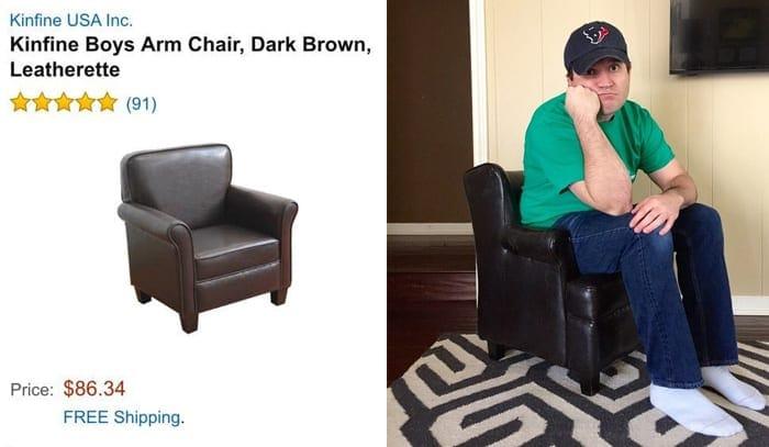 Przytulny fotel