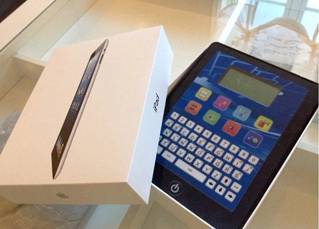 Powalić iPada
